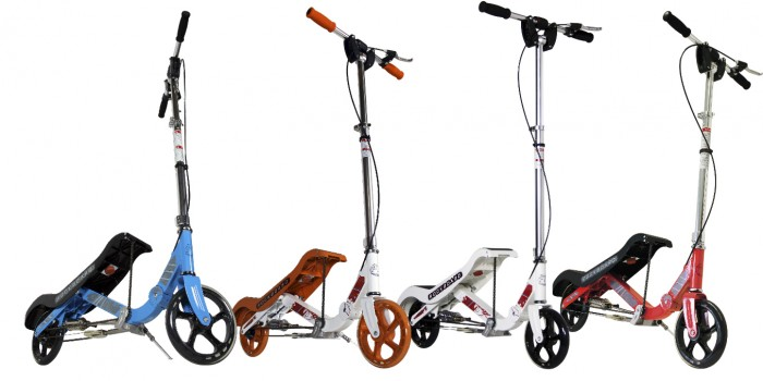 Rockboard scooters