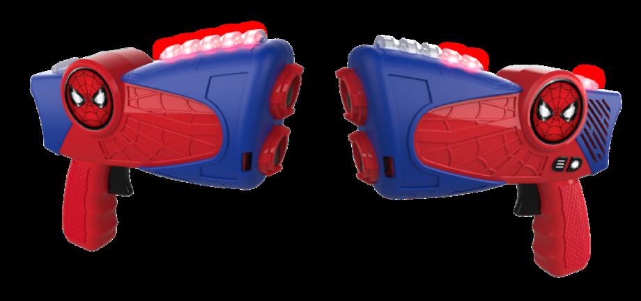 Spiderman Laser Tag Guns Image