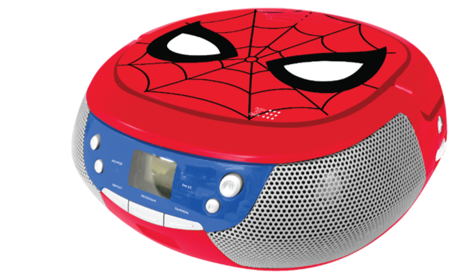 Spiderman CD-player and boombox Image